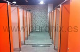 cabinas de vestuarios