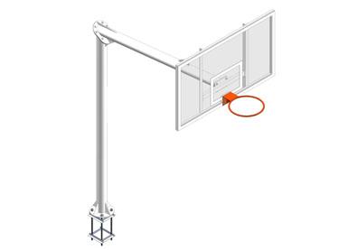 EB006 / EB007. Canasta basket EUROGROUND v 2,25 m.