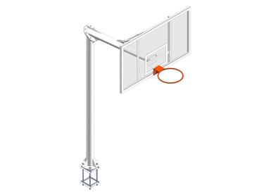 EB008 / EB009. Canasta basket EUROGROUND v 1,65 m.