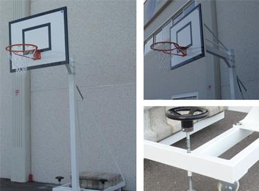 EB023. Canasta trasladable minibasket  v 1 m