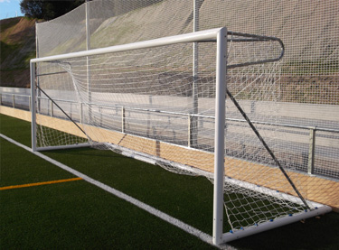 Portería de aluminio fútbol 7 portátil (EFPA003)