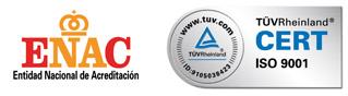 logo enac e ISO9001