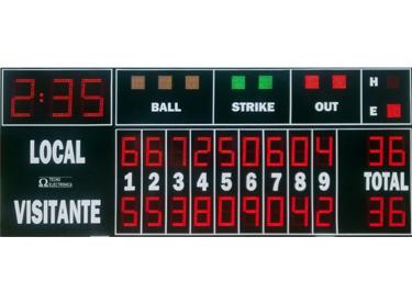 Marcador Beisbol y Softball MDG BSB D25