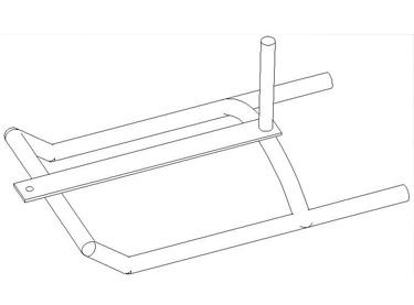 Trineo arrastre tubo pro (EFC004)