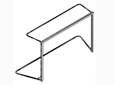 (EBM010) Portería BM Aluminio con arquillo superior e inferior.