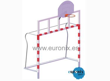 (EBM 004). Portería BM-Basket para empotrar
