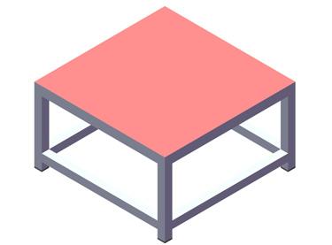 (EF018 – EF024) Cubos pliométricos cuadrados