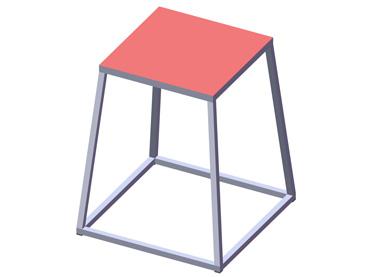 (EF055 – EF061) Bancos pliométricos piramidales