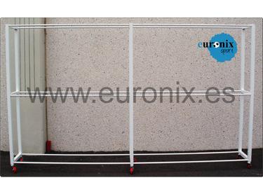 (EF046) Carro/mueble para 12-18 balones gigantes de 50 a 75 cm