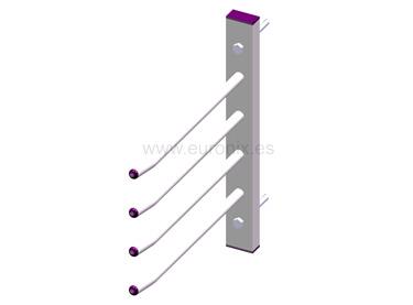 (EF003-EF005) Soporte aros cuerdas tubo
