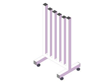 (EF009) – Soportes mancuernas vertical