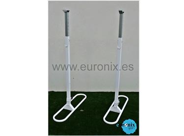 (EF008) Soporte sentadillas y pesas