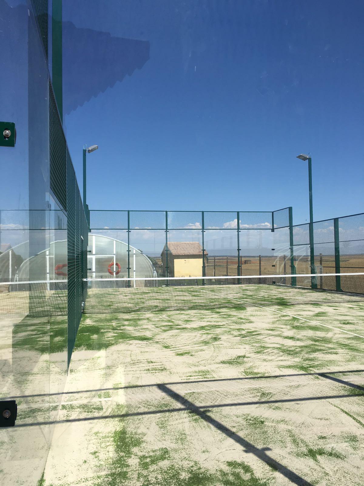 Pista en Tortuera, Guadalajara. Euronix