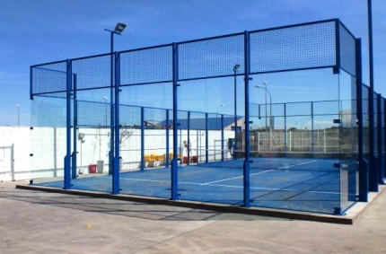 New Paddle Court in Quinto de Ebro