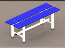 EBV 011 – Bench (Steel – phenolic)