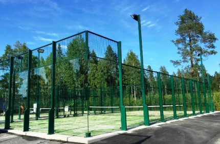 Padel courts in Umea, Sweden