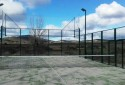 Padel court Europlay in Santed