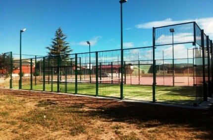 Padel Court Europlay in Palencia