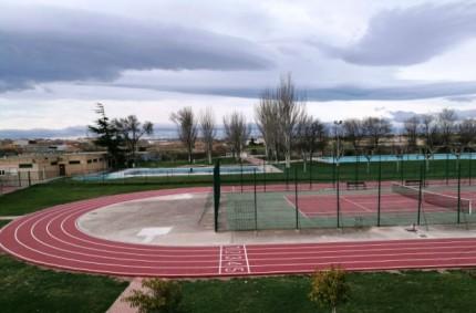 Running track in Pedrola