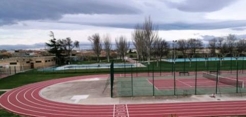 Pista de atletismo en Pedrola