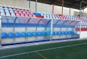 Football dugouts in Valencia