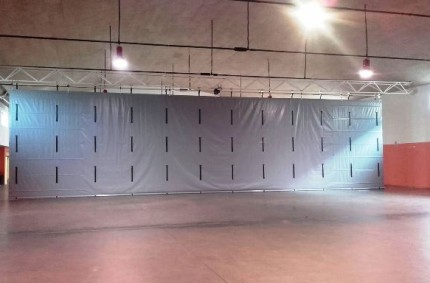 Motorized Divider Curtain