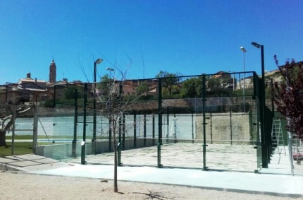 Padel court Europad and Protetion Nets in Valdealgorfa