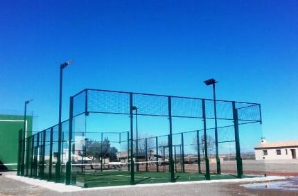 Padel Court in Alcolea de Cinca
