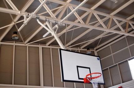 Basketball goals Eurounic in Villar de Arzobispo