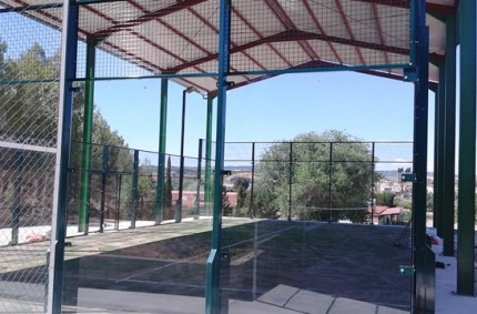 Paddel Court Europad in Ariza