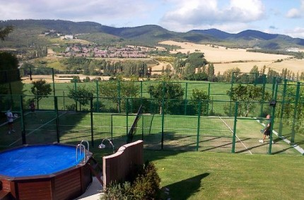 Paddle Court Europlay in Gorraiz, Navarra