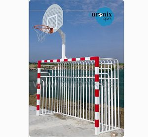 Portería más basket antivandalica - Euronix