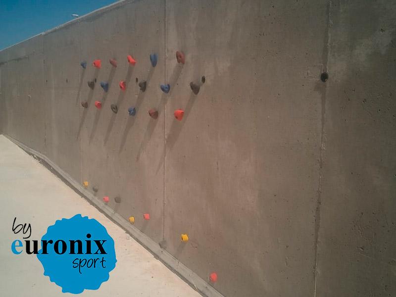 euronix instalacion rocodromo colegio cuarte de huerva